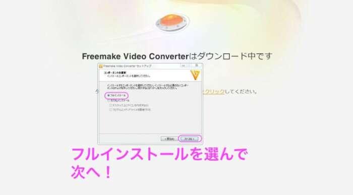 Freemake Video Converterインストール次へ