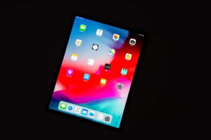 ホームボタンが無い iPad Pro(2018) でスクリーンショットを撮る方法