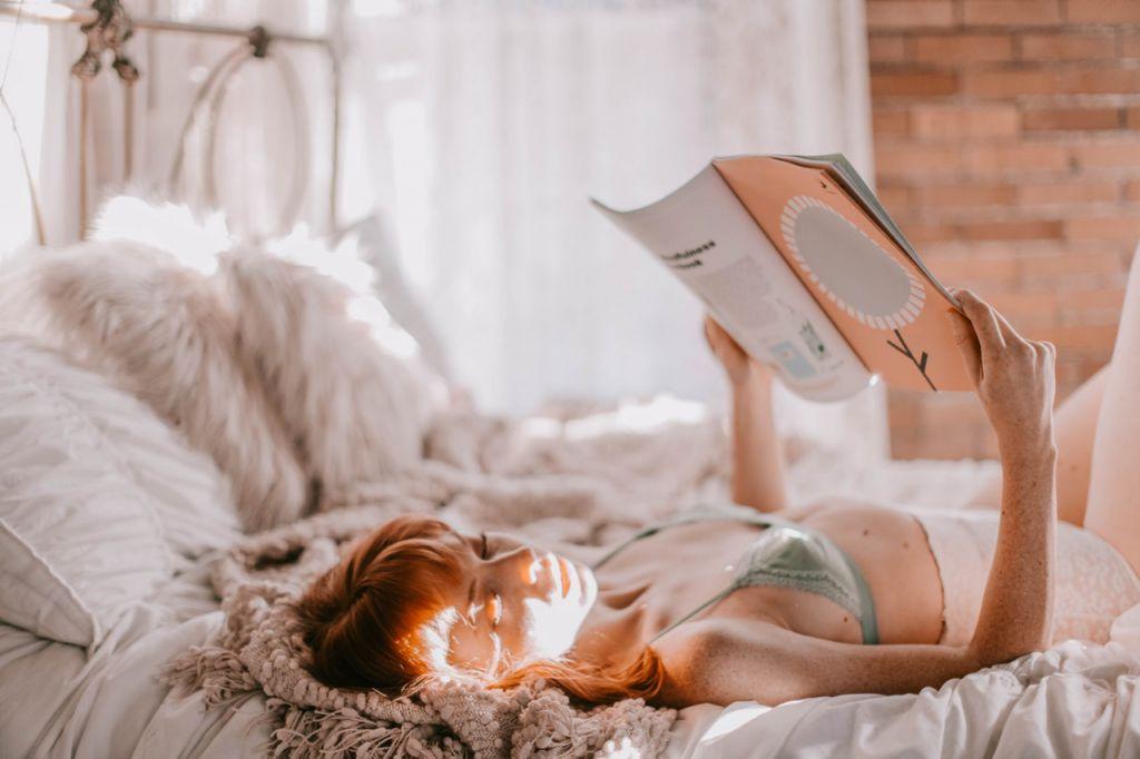 眠くなるまで、本を読む