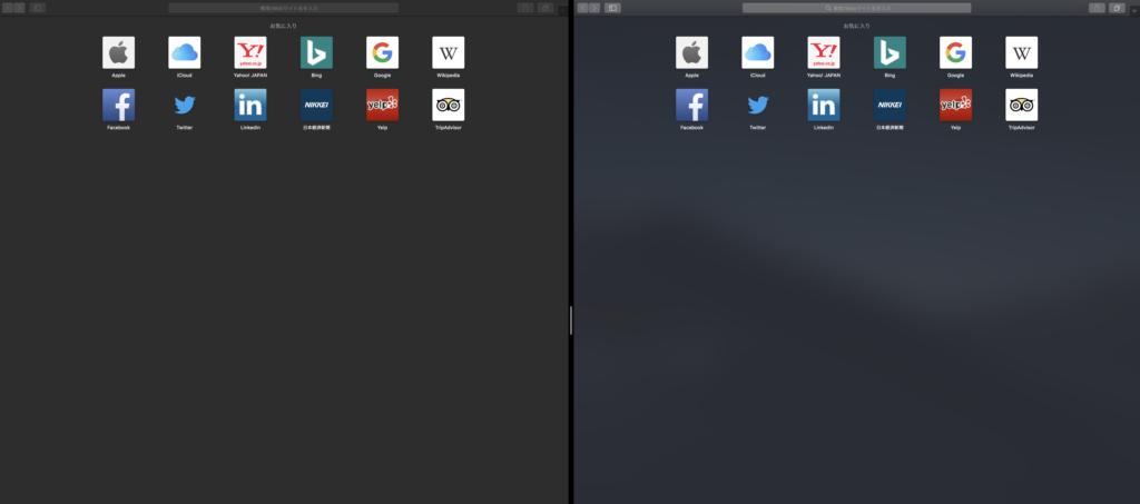Macの標準装備の『Split View』を使う方法